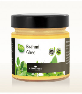 Masło klarowane Ghee z Brahmi ORGANICZNE 150g Cosmoveda