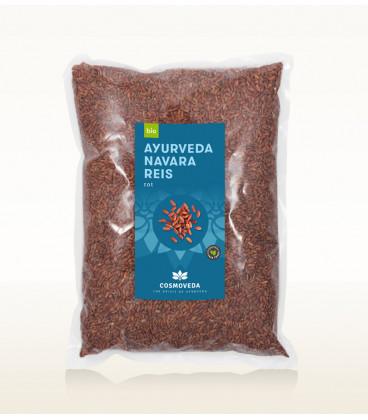 Organiczny Czerwony Ajurwedyjski Ryż Navara 1 kg Cosmoveda