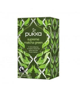 Herbata Zielona Supreme Matcha - 20 torebek, Pukka