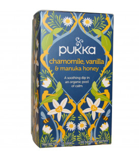 Herbata rumiankowa z wanilią i miodem manuka- 20 torebek  Pukka