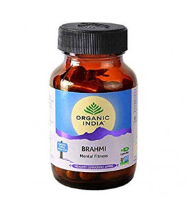 Gotu Kola (Centella asiatica) Organic India 60 kaps x 400mg (Suplement diety)