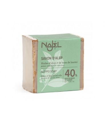 Mydło oliwkowo-laurowe Aleppo 200g (40% oleju laurowego) Najel