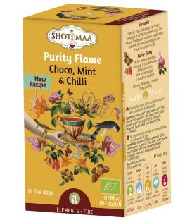 Herbata Element Ognia: słodka czekolada i chili /Purity Flame - 16 torebek, Shoti Maa,