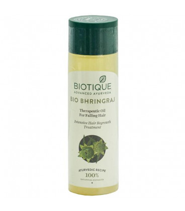 Olejek Na Wzrost Włosów Bhringraj 120ml Biotique
