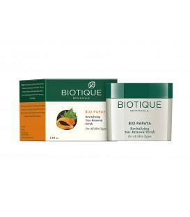 Bio Peeling Papaya do twarzy z PAPAJĄ wygładzający i rewitalizujący 75g Biotique