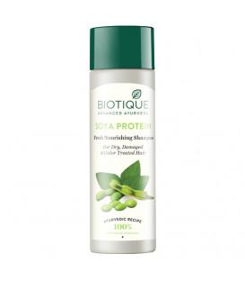 BIO Szampon Proteinowy Odżywczy, Biotique, 190 ml - Proteiny Sojowe & Słodkie Migdały