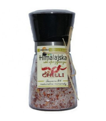 Młynek Avangarde z solą himalajską i chilli 200g