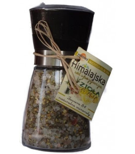 Młynek avangarde z solą himalajską z ziołami i cytryną