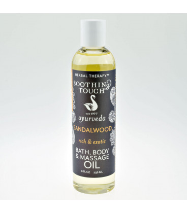 Sandalwood Body Spa Oil, 236 ml
