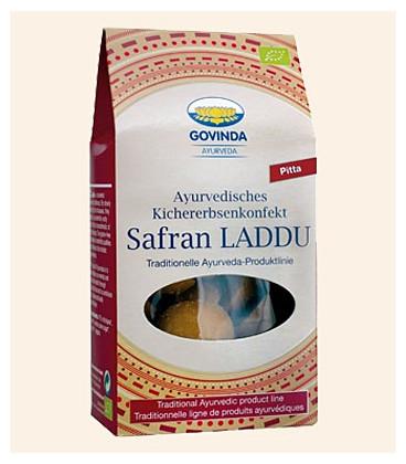 Saffron Laddu organic comfit, 120 g