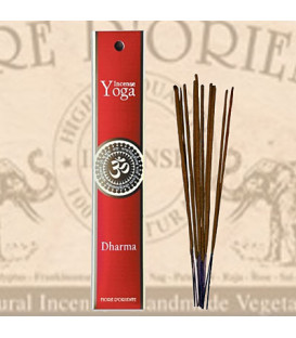 Dharma Yoga Incense Fiore D'Oriente 12 g, 8 pcs.