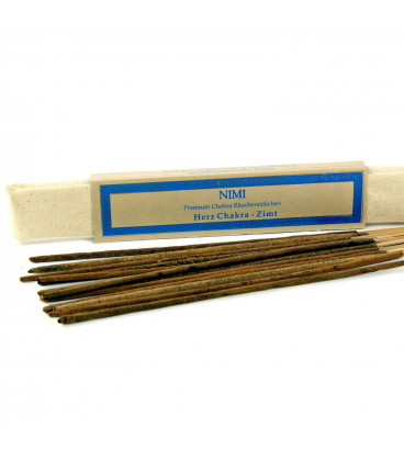 Heart-Chakra Nimi Premium Incense, 15 sticks