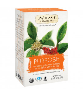 Organiczna herbata Purpose - Mate,  16 torebek