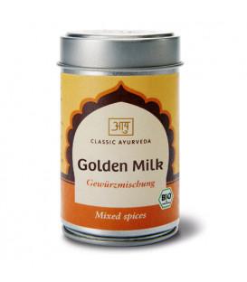 Organiczna mieszanka przypraw do mleka Golden Milk 50g Classic Ayurveda