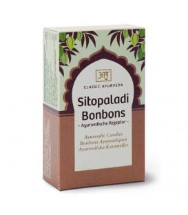 Cukierki Sitopaladi na układ oddechowy Bonbons, 50 g Classic Ayurveda