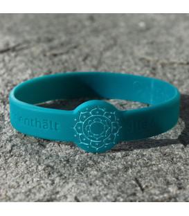 Mindlet Lotus bracelet, petrol (Petrol / Regular)