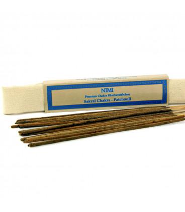 Kadzidełka na 2 czakrę Sacral-Chakra Nimi Premium, 15 sztuk