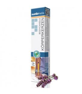 Body Candles Naturhelix, Lavender (2 pcs.)