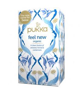 Herbata Feel New BIO 20 saszetek (dawniej Detox) Pukka