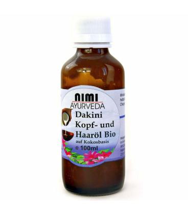 Dakini Hair Oil Nimi Ayurveda organic, 100 ml