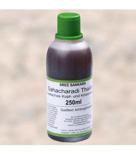 Sahacharadi Thailam Sree Sankara, 250 ml