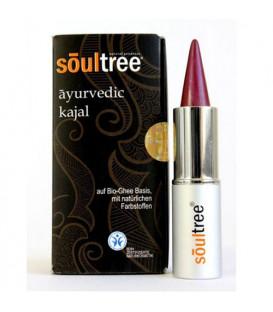 SoulTree Ayurvedic Kajal Purple-Pink, 3 g
