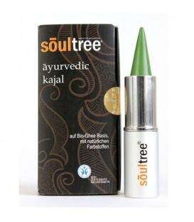 SoulTree Ayurvedic Kajal Mossgreen, 3 g