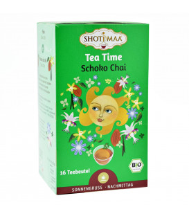 Organiczna herbata na Popołudnie Choco Chai,  Shoti Maa , 16 torebek
