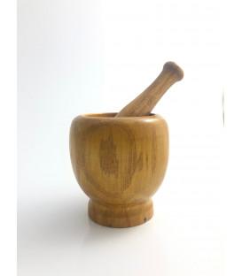 Moździerz drewniany 10cm