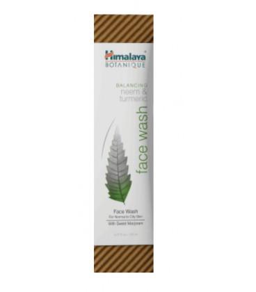 Żel Botaniczny normalizujący do mycia twarzy neem i kurkumą 150ml Himalaya