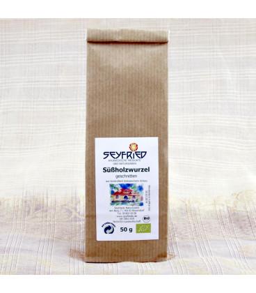 Licorice root, sliced, organic, 50 g (50 g)