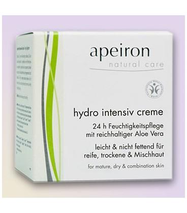 Hydro Intensive Cream Apeiron BDIH, 50 ml