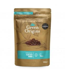 Green Origins Organic Cacao Nibs (Raw) 90g