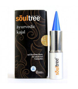 Kajal BIO kolor Jodhpur Blue, 3 g SoulTree Ayurvedic - BDIH certyfikat ekologiczności