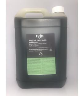 Czarne mydło  ALEPPO w płynie 5L NAJEL - ekologiczny środek do prania i mycia