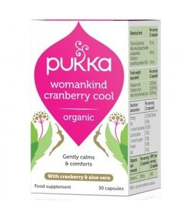 Womankind Cranberry Cool BIO (30 kapsułek) PUKKA