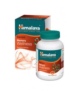 BRAHMI (Bacopa Monnieri) - polepsz IQ! 60 wege kaps. suplement diety Himalaya Herbals