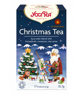 Herbata Świąteczna BIO Christmas Tea 17 torebek Yogi Tea