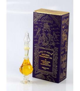 15 ml. Jasmine Perfume Oil in Hand-Blown Glass Bottles FA15-JA