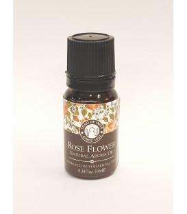 Olejek zapachowy z zakraplaczem Rose Flower Song of India 10ml