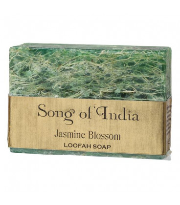 125 g. Assorted Loofah Gourd Bar Soap with Essential Oils in Clean Shrink WESOL-xx