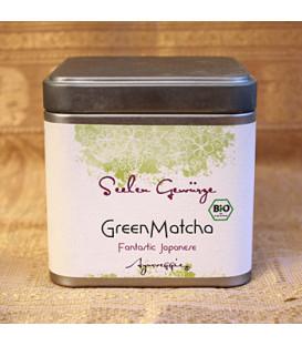 Herbata Japońska Green Matcha organic, 50 g Powder Ayurveggie