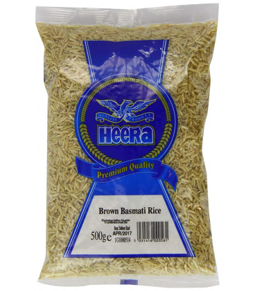 Heera Brown Basmati Rice 500G