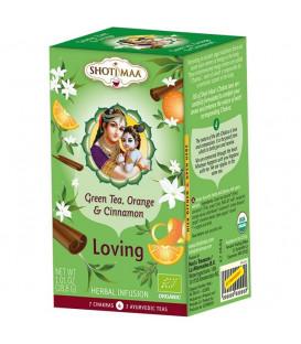 Herbata na 4. Czakrę Serca - Miłosna Herbata Harmonizująca -16 torebek, Shoti Maa