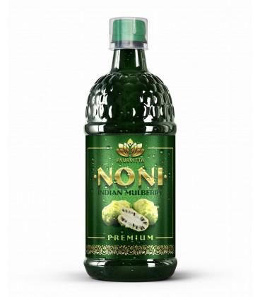 Sok z Noni 100% NATURALNY 1 litr Ayurvitta