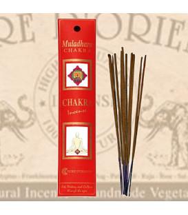 Muladhara Chakra Incense Fiore D'Oriente 12 g, 8 pcs.