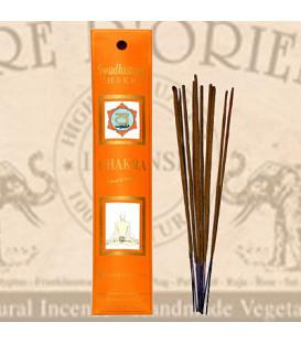 Swadhisthana Chakra Incense Fiore D'Oriente 12 g, 8 pcs.
