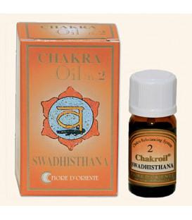 Olejek eteryczny 2 Chakra Sakralna Swadisthana, 10 ml Fiore D'Oriente