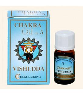 Olejek eteryczny 5 Czakra Gardła Vishudda, 10 ml Fiore D'Oriente