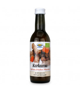BIO Sok z Kurkumy w szkle, 250 ml Govinda